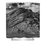 Pahranagat Mountains Shower Curtain