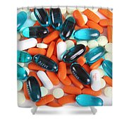Pain Medication Shower Curtain