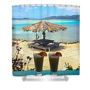 Painkillers Shower Curtain