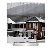 Paint Bank General Store Shower Curtain