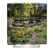 Paint Creek Bridge Shower Curtain