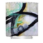 Paint Improv 5 Shower Curtain
