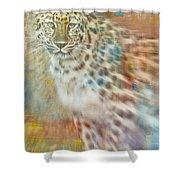 Paint Me A Cheetah Shower Curtain