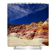 Paint Mines Beauty Shower Curtain