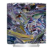 Paint Number 57 Shower Curtain by James W Johnson