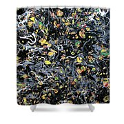 Paint Number Eleven Shower Curtain