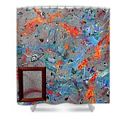 Paint Number Forty Shower Curtain
