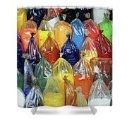 Paint Pigment Shower Curtain