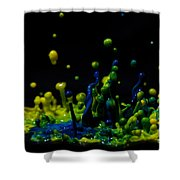 Paint Sculpture 3 Shower Curtain