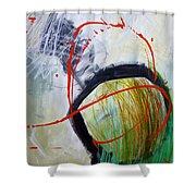 Paint Solo 8 Shower Curtain
