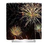 Paint The Sky With Fireworks  Shower Curtain
