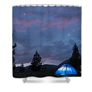 Paint The Sky With Stars Shower Curtain