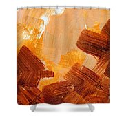 Painted Background Texture Shower Curtain