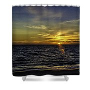 Painted By God Shower Curtain