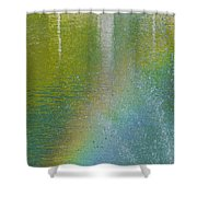 Painted By Water And Light Shower Curtain