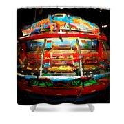 Painted Casino Shower Curtain