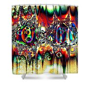 Carnival Dancers Shower Curtain