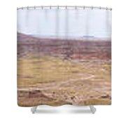 Painted Desert 5 Shower Curtain