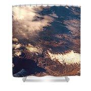 Painted Earth IIi Shower Curtain by Jenny Rainbow