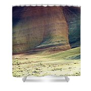 Painted Hills 11 Shower Curtain