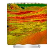 Painted Hills 2 Shower Curtain