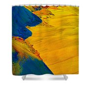 Painted Hills 3 Shower Curtain
