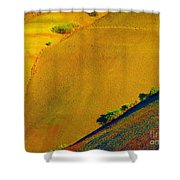 Painted Hills 5 Shower Curtain