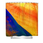 Painted Hills 6 Shower Curtain