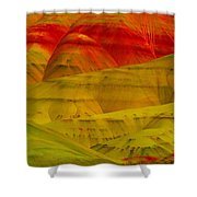 Painted Hills 9 Shower Curtain