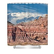 Painted Hills Of The Upper Jurrasic Shower Curtain