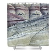Painted Hills Oregon 8 Shower Curtain