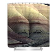 Painted Hills Oregon 9 Shower Curtain