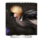 Painted Islands Of Summer Lilies Shower Curtain by Sharon Mau
