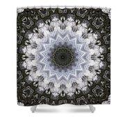 Painted Kaleidoscope 16 Shower Curtain