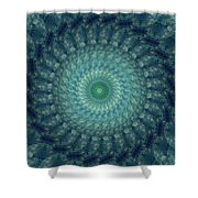 Painted Kaleidoscope 3 Shower Curtain