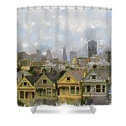 Painted Ladies - San Francisco Shower Curtain