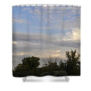 Painted Landscape Shower Curtain