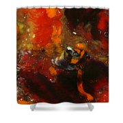 Painted Man Shower Curtain