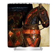 Painted Pony Shower Curtain