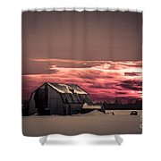 Painted Skies Shower Curtain