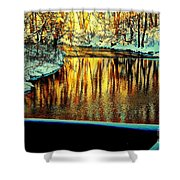 Painter's Box Shower Curtain