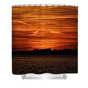 Painting In The Sky Shower Curtain