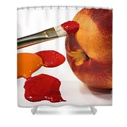 Painting Natures Colors Shower Curtain