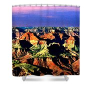 Painting The Grand Canyon National Park Shower Curtain