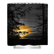 Painting The Sky Shower Curtain