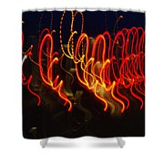 Painting With Light 3 Shower Curtain