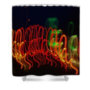 Painting With Light 5 Shower Curtain