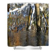 Painting With Light The Mind For Existence Shower Curtain
