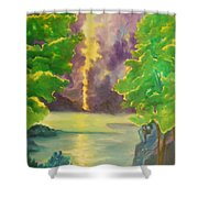 Paintings By Lyle Shower Curtain