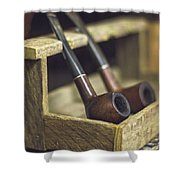 Pair Of Pipes Shower Curtain